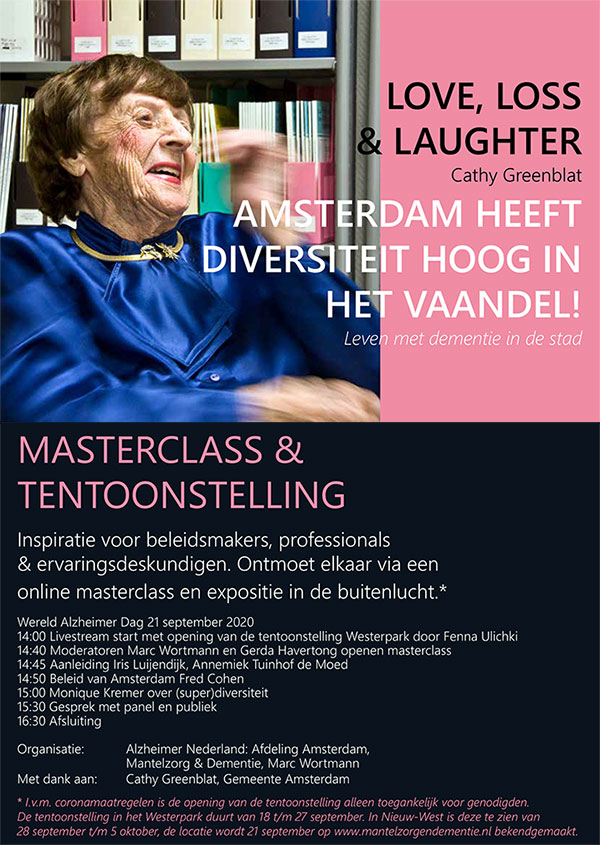 Tentoonstelling Love, Loss & Laughter - Cathy Greenblat